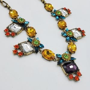 NWT Boutique statement costume necklace